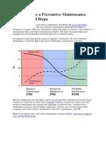 How to Make a Preventive Maintenance Program in 4 Steps