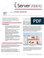 SQL Server 2008 R2 Reporting Services Datasheet