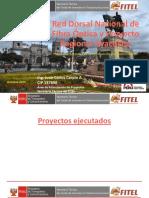 Red Dorsal Nacional de Fibra Óptica y Proyecto Regional Ayacucho