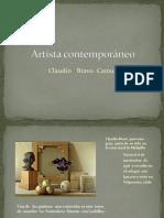 Artista contemporáneo.pptx