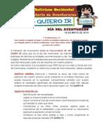 Conv. Dia Del Aventurero 2019
