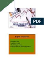 Microsoft Power Point - Teknik-Teknik Capital Budgeting - Week 5