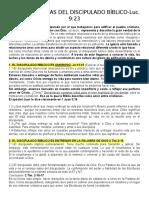Características Del Discipulado- Clase 4-Hno. Oscar