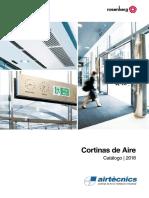 Catálogo Cortinas de Aire 2018