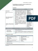 Modelo de Sesion de Aprendizaje de Residuos Solidos