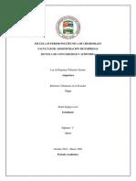 Reforma tributarias 2018