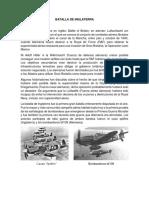 Historia de La Perforacón en Bolivia