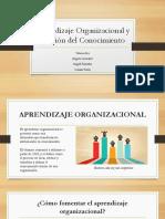 Aprendizaje Organizacional y Gestión Del Conocimiento
