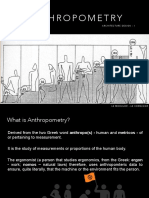 arthropometry