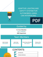 Adaptive lighting and safety systems