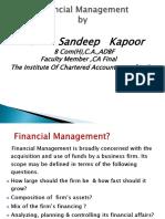 Bascic of Financial Management