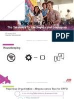 Paperless EPFO Presentation