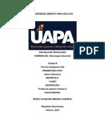 Unidad III Prueba de Aptitud e Interes II by Alixon P