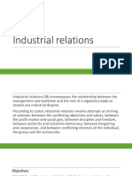 Module 5 - Industrial Relations