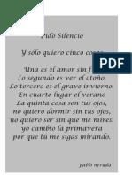 Poema de Pablo Neruda 15