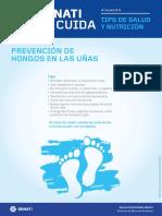 Boletín STC N°34 -  Abril- Prevención de hongos en las uñas