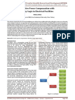 Reactive Power Compensation with Fuzzy Logic in Electrical Facilities