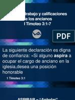 Papel de los lideres en la iglesia