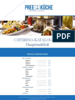 Catering-Katalog Hauptstadtfloß 2019