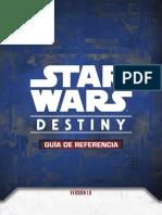 SW Destiny - Guia de referencia v1.9