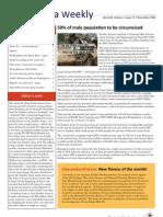 Zambia Weekly - Week 44, Volume 1, 5 November 2010
