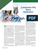 CUMPLEAÑOS FELIZ MARIA AUXILIADORA