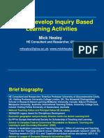 Inquiry based