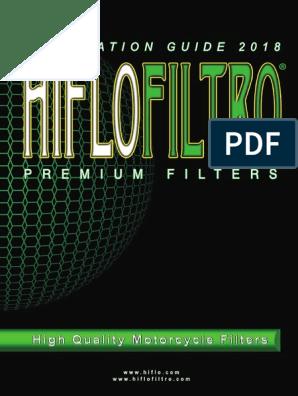 Hiflofiltro hfa2607/Filtre pour moto