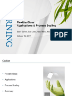 Presentation - Flexible Glass Application and Process Scaling