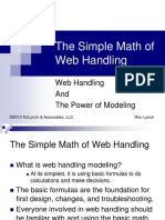 Presentation - The Simple Math of Web Handling