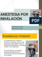 Anestesia por Inhalacion