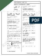 Algebra Polinomios II Intelectus - 2015