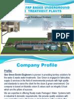 Presentation of Sewage Treatment Plant - STP