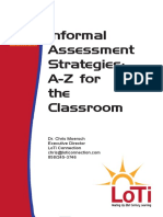 6 Informal Assessment Strategies