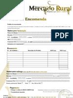 Nota de Encomenda Mercado Rural