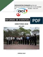 Informe de Eventos ACI UPC