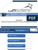 GSMS Service Solutions 2018 v2