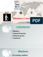 Blindness Control Programs