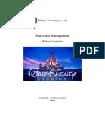The Walt Disney Studios - Case Study