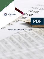 QNB Tariff of Change