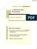 Chapter 06 Benzene and Aromaticity