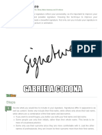 Make a Signature - VisiHow