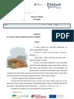 Ficha de Português - Fogo
