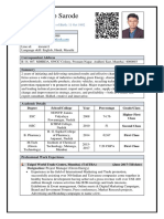 Parag Sarode Resume (MTECH).docx