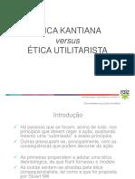 Etica Kantiana Etica Utilitarista