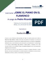 Piano en El Flamenco 2019