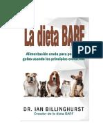 La dieta BARF - Dr. Ian Billinghurst