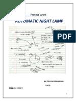 Auto Night Lamp