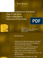 Prize Bond and Government Securities