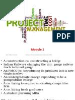 Project Management M1